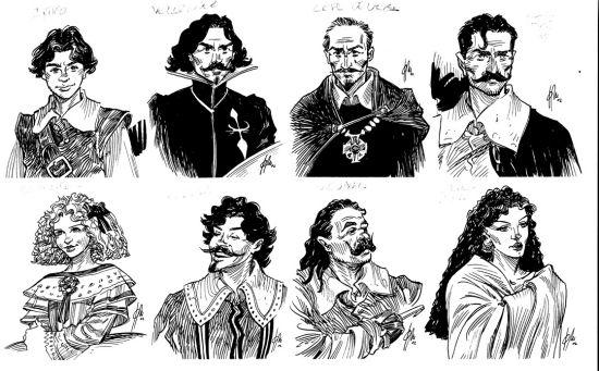 personajes de novelas