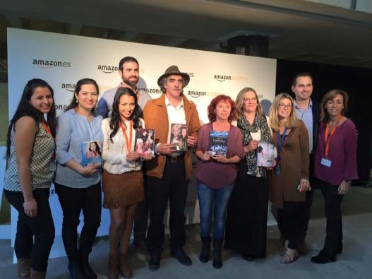 Con el equipo de Amazon en lengua española