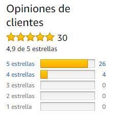sistema de recomendación libros en amazon estrellas