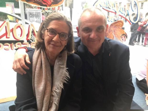 Literania 2019 Mercedes Pinto y Mario Escobar